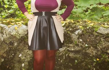 favorite purple autumn outfit