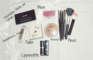 Handgepäck als Beauty Blogger! Wohin mit den Flüssigkeiten?