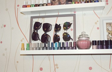 Sun Glasses Holder DIY