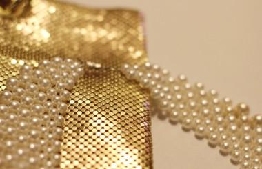 Perlen Statement Kette DIY — Beaded Collar — upcycling