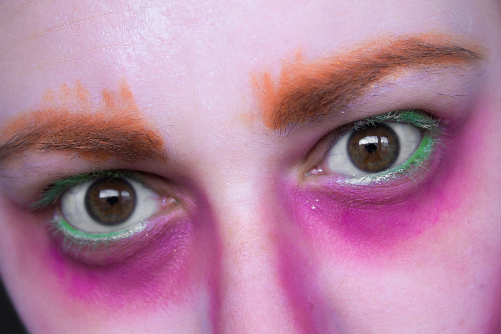 nyx,make up,kreativ,turorial,alice in wunderland,alice,the hutter